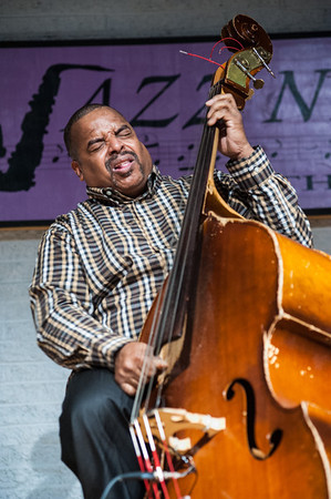 Cheney Thomas played the bass for a sound as energetic and expressive as his facial expressions.