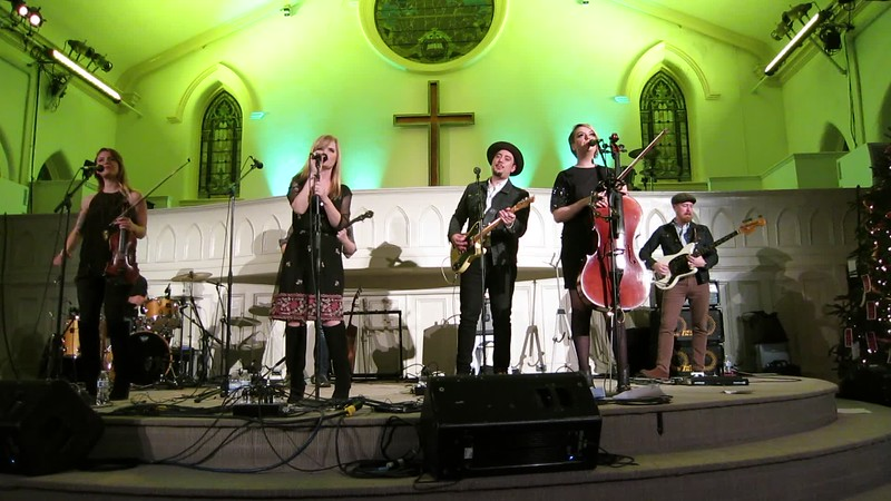 20181231 (2144) New Reveille at First Night Raleigh (Vintage Church) 4 of 7 {video clip by Dilip Barman}