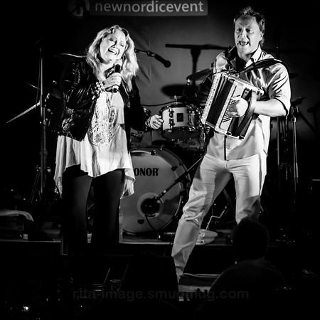Anita Hegerland and Odd Arne Sorensen