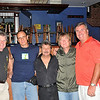 (L to R) Jack, Gerry Sorrentino, Mario Stiano, Kim Simmonds & Jim Quinn