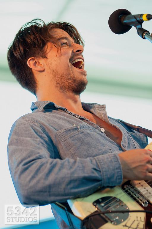 Matthew Vasquez with Delta Spirit