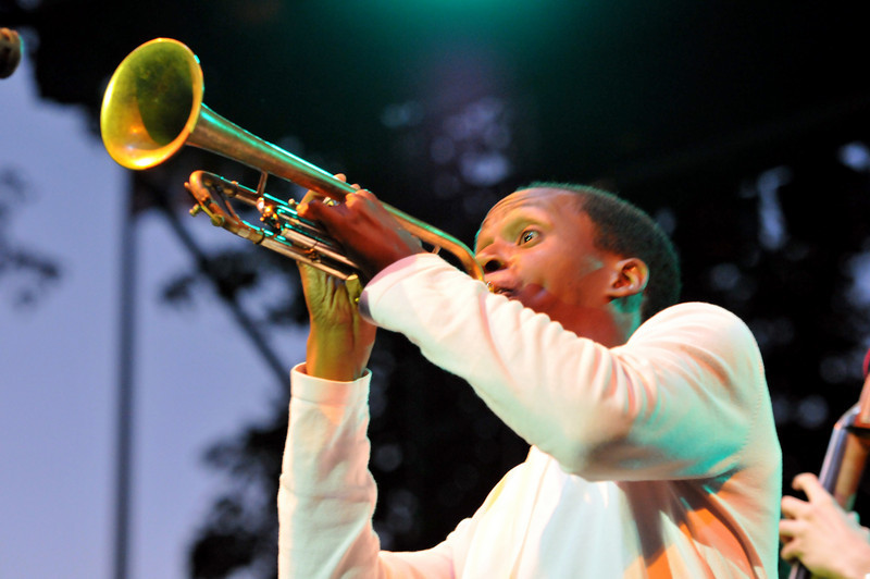 Jason Palmer, trumpet<br /> Grace Kelly Band