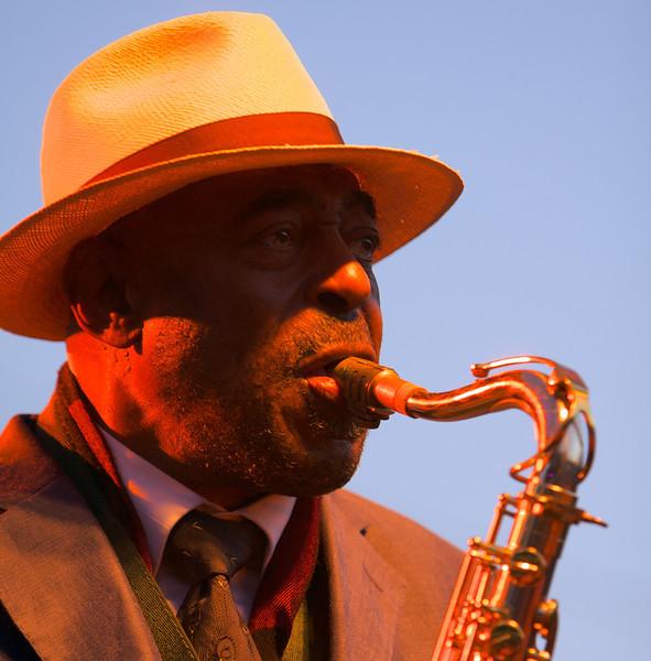 Archie Schepp at the Nice Jazz Festival 2008