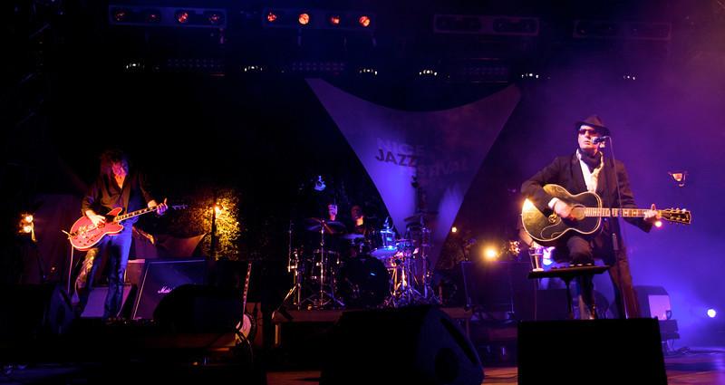 Alain Bashung au Nice Jazz Festival 2008