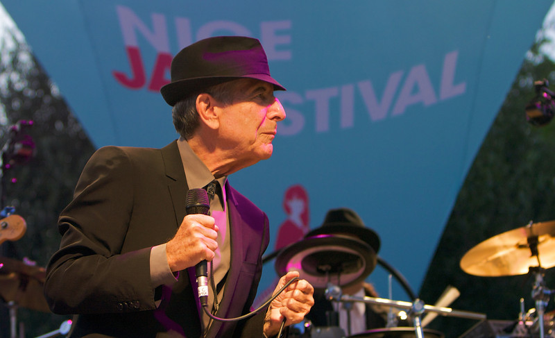 Leonard Cohen at Cimiez