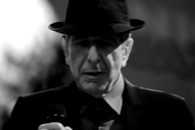Leonard Cohen at the Nice Jazz Festival 2008