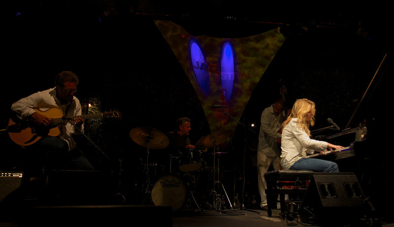Diana Krall at the Nice Jazz Festival 2008