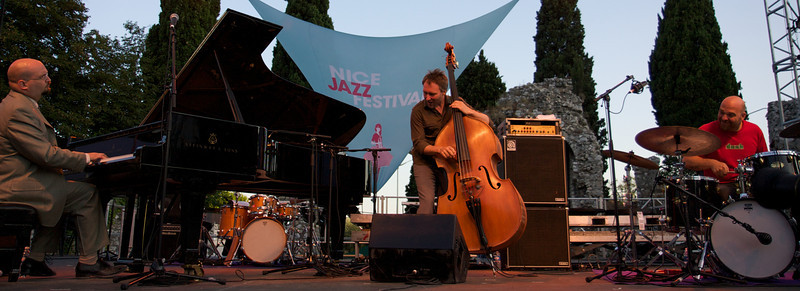 The Bad Plus at the Nice Jazz Festival 2008
