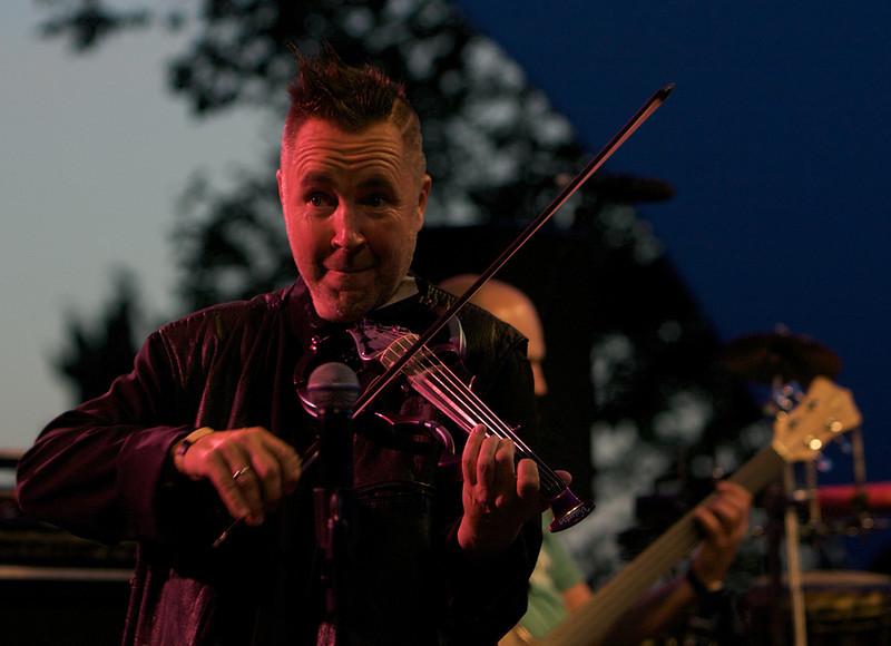 Nigel Kennedy at the Nice Jazz Festival 2008