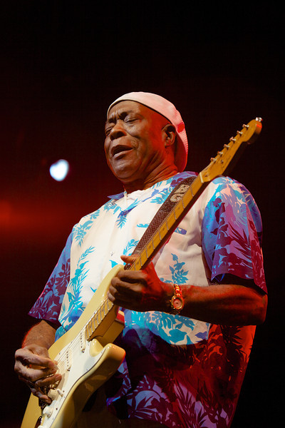 Buddy Guy performing at the Nice Jazz Festival on 7/20/10
