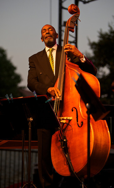 Ron Carter in concert during the Nice Jazz Festival 2010