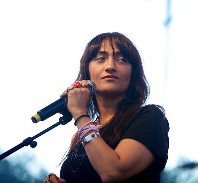 Hindi Zahra at the Nice Jazz Festival 2010 1