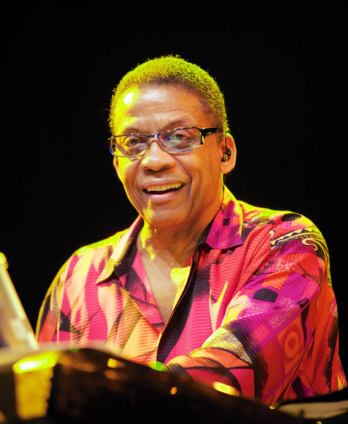 Herbie Hancock performs at the Nice Jazz Festival on 7/9/12