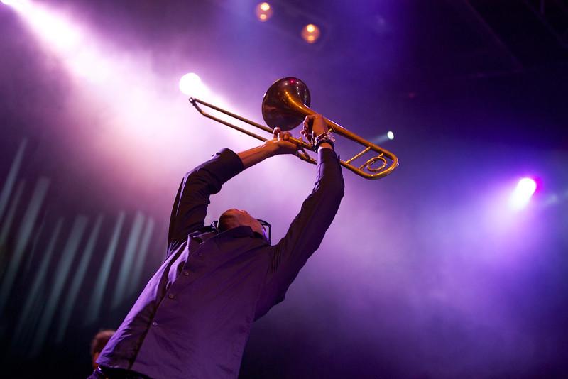 Trombone Shorty at the Nice Jazz Festival 2012 9