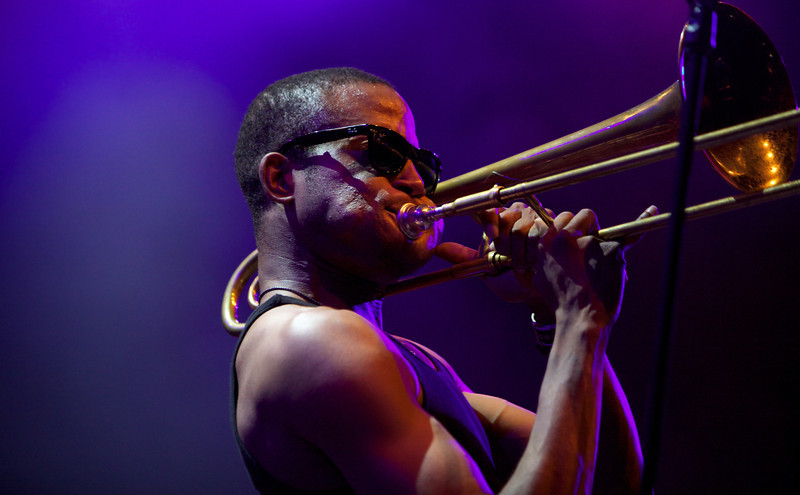 Trombone Shorty at the Nice Jazz Festival 2012 18
