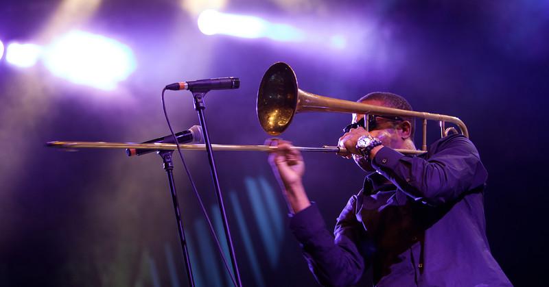 Trombone Shorty at the Nice Jazz Festival 2012 5