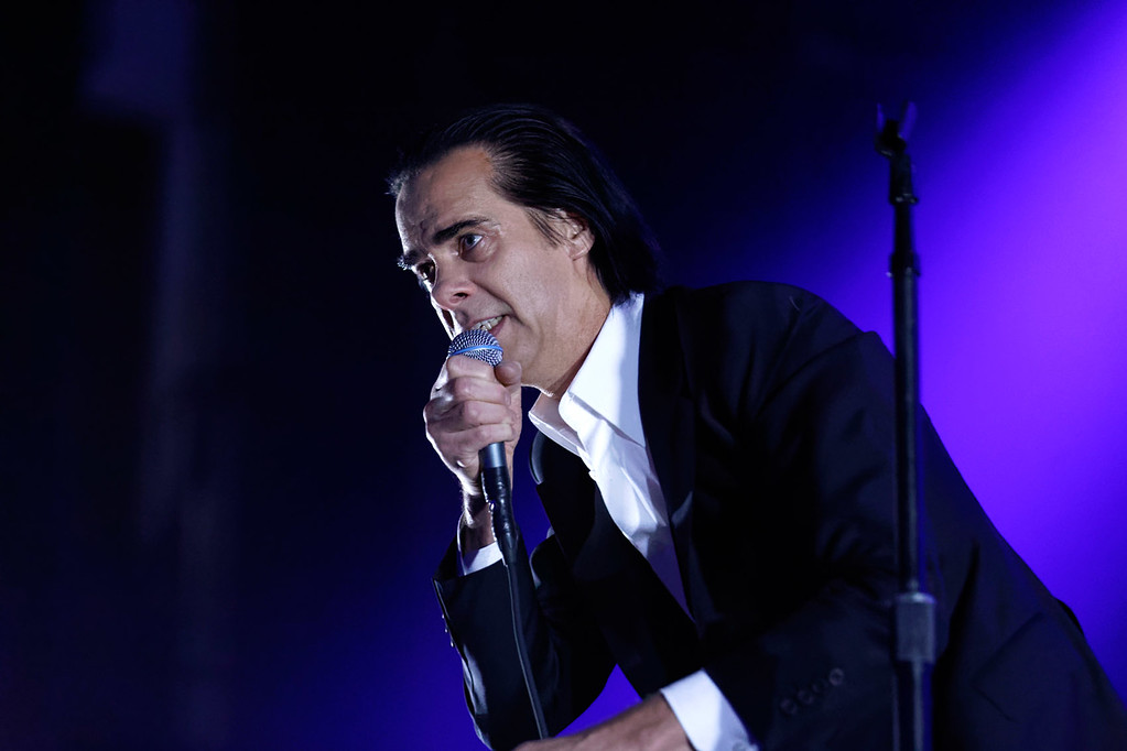 . Nick Cave & The Bad Seeds live at Masonic Auditorium in Detroit  on 6-3-2017.  Photo credit: Ken Settle
