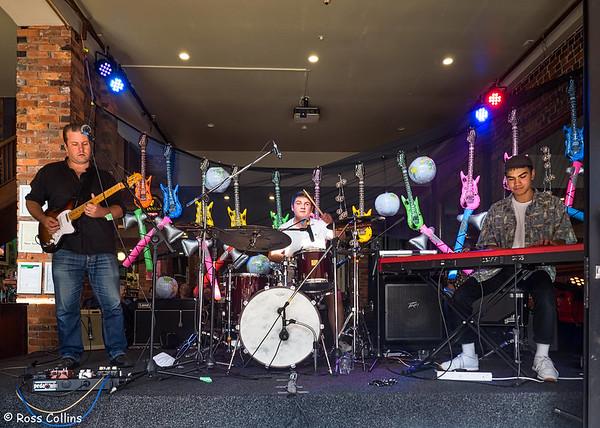 Nick Granville Trio at CubaDupa, 25 March 2018
