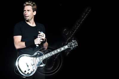 LOS ANGELES, CA - JUNE 15:  Vocalist / guitarist Chad Kroeger of Nickelback performs at Staples Center on June 15, 2012 in Los Angeles, California.  (Photo by Chelsea Lauren/WireImage)