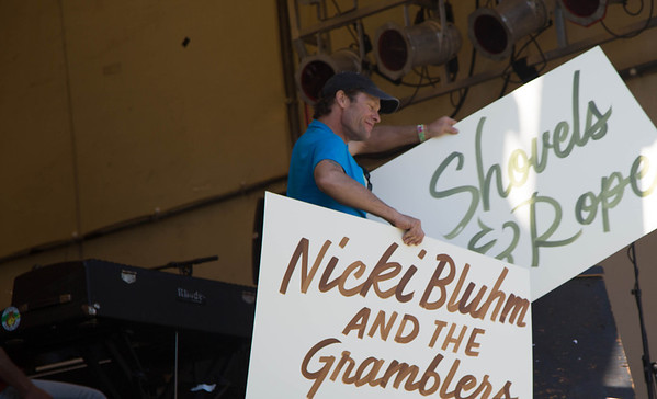 Nicki Bluhm & the Gramblers At Strawberry 5/24/13