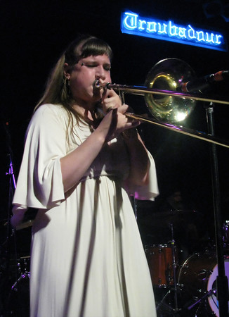 Nikka's one-woman brass section