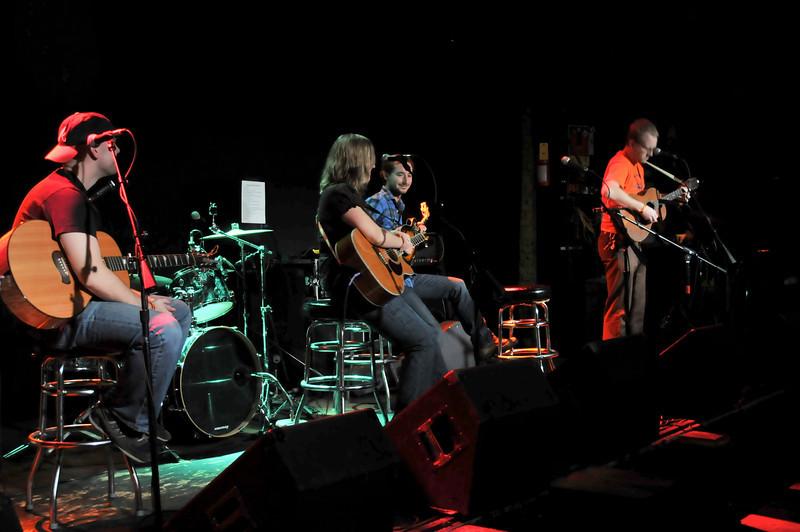 Songwriters in the Round 1: Dana Rogers, Ben Scoggins, Shawnessey Cargile, and Gabriel Zane