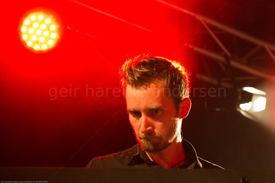 Amund Maarud at Notodden Blues Festival 2012, Simen Aanerud, keyboard