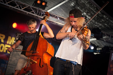Valkyrien Allstars in Hovigs Hangar at Notodden Blues Festival 2013