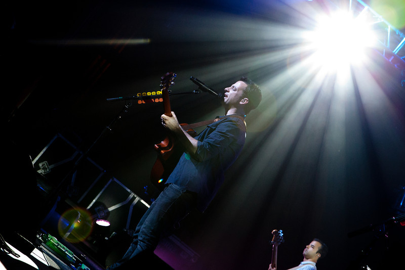 O.A.R. @ The Fabulous Fox Theatre, 7/19/12<br /> <br /> Band Members:<br /> Marc Roberge (lead vocals, rhythm guitar; 1996–present)<br /> Richard On (lead guitar, backing vocals; 1996–present)<br /> Chris Culos (drums, percussion; 1996–present)<br /> Benj Gershman (bass guitar; 1996–present)<br /> Jerry DePizzo (saxophone, rhythm guitar, backing vocals; 2000–present)<br /> <br /> Full-Time Touring members<br /> Mikel Paris (keyboards, percussion, backing vocals; 2006–present)<br /> <br /> Part-Time Touring Members<br /> Jon Lampley (trumpet, backing vocals, 2011–present)<br /> Evan Oberla (trombone, backing vocals, 2011–present)