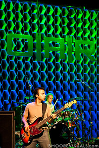 Benj Gershman and Chris Culos of O.A.R. perform at Ruth Eckerd Hall in Clearwater, Florida on Septermber 15, 2010.