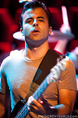 Benj Gershman of O.A.R. performs at Ruth Eckerd Hall in Clearwater, Florida on Septermber 15, 2010.