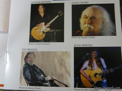 2014 (Oct 25) Jackson Brown, David Crosby, Jeff and Jessie Bridges at the Arlington