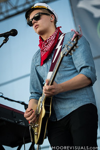 Brynjar Leifsson of Of Monsters And Men performs on December 1, 2012 during 97X Next Big Thing at Vinoy Park in St. Petersburg, Florida
