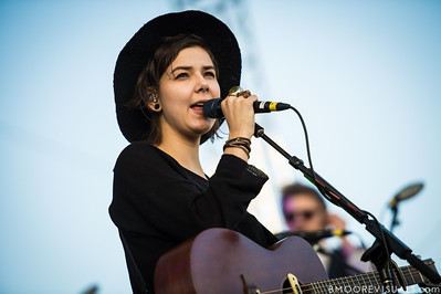 Nanna Bryndís Hilmarsdóttir of Of Monsters And Men performs on December 1, 2012 during 97X Next Big Thing at Vinoy Park in St. Petersburg, Florida