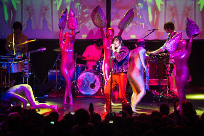 Kevin Barnes of Of Montreal performs on January 15, 2011 at The Ritz in Tampa, Florida