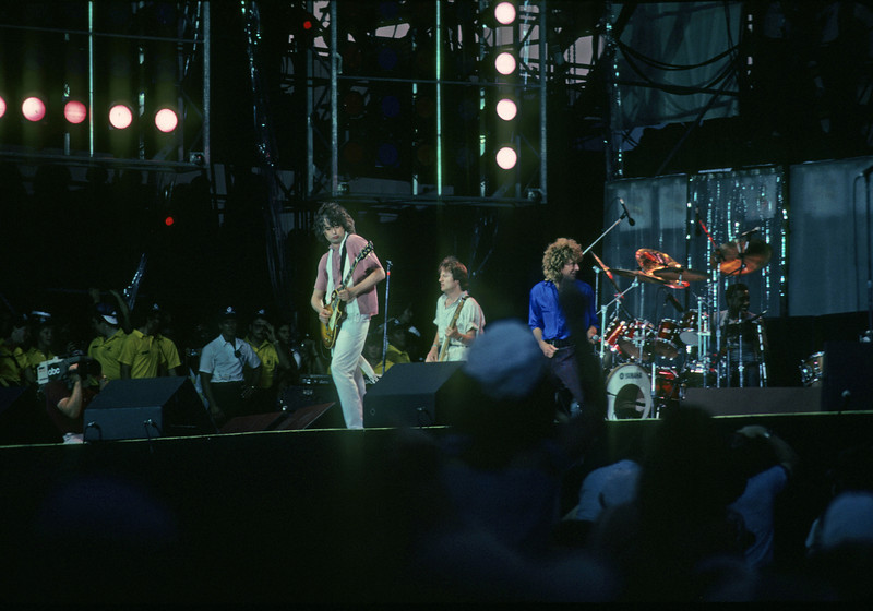 Led Zeppelin<br /> Live Aid , Philadelphia
