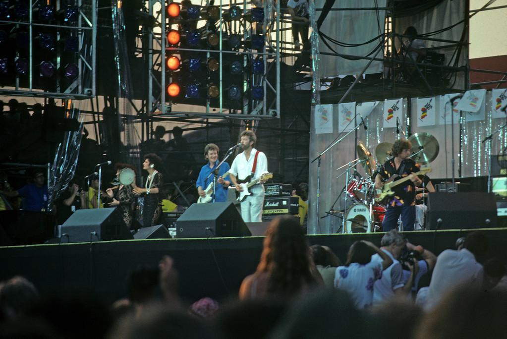 Eric Clapton <br /> Live Aid / Philadelphia