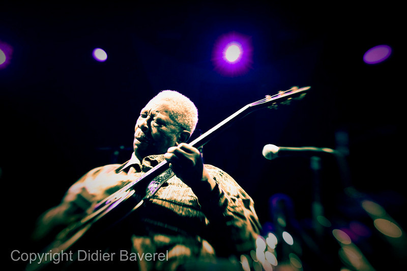 *legende* Festival de Jazz de Nice. B.B. King