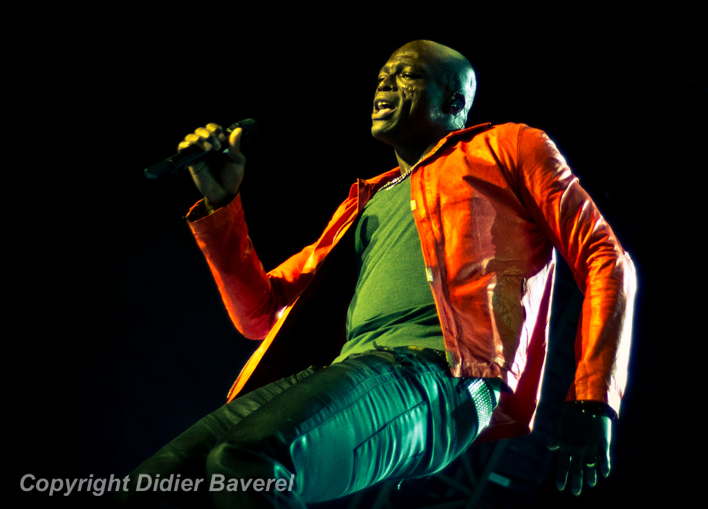 *legende* Festival de Jazz. Seal, The Commitment Tour.