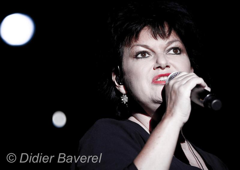 *legende* Festival de Jazz de Nice dans les Arenes de Cimiez. Maurane
