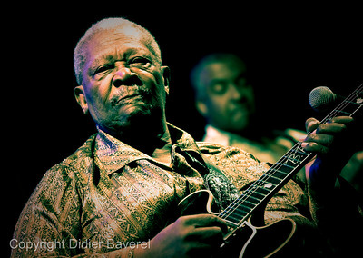 *legende*  Festival de Jazz de Nice. B.B. King