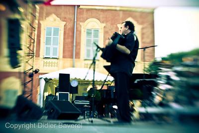 *legende*  Festival de Jazz de Nice. Richard Galliano