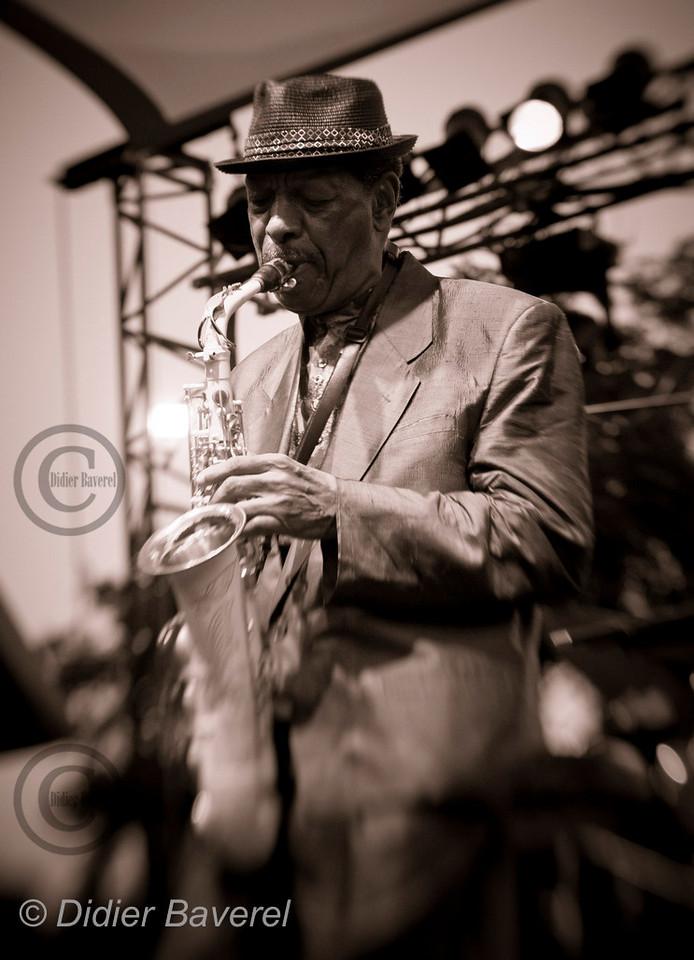 *legende* Festival de Jazz de Nice dans les Arenes de Cimiers. Ornette Coleman