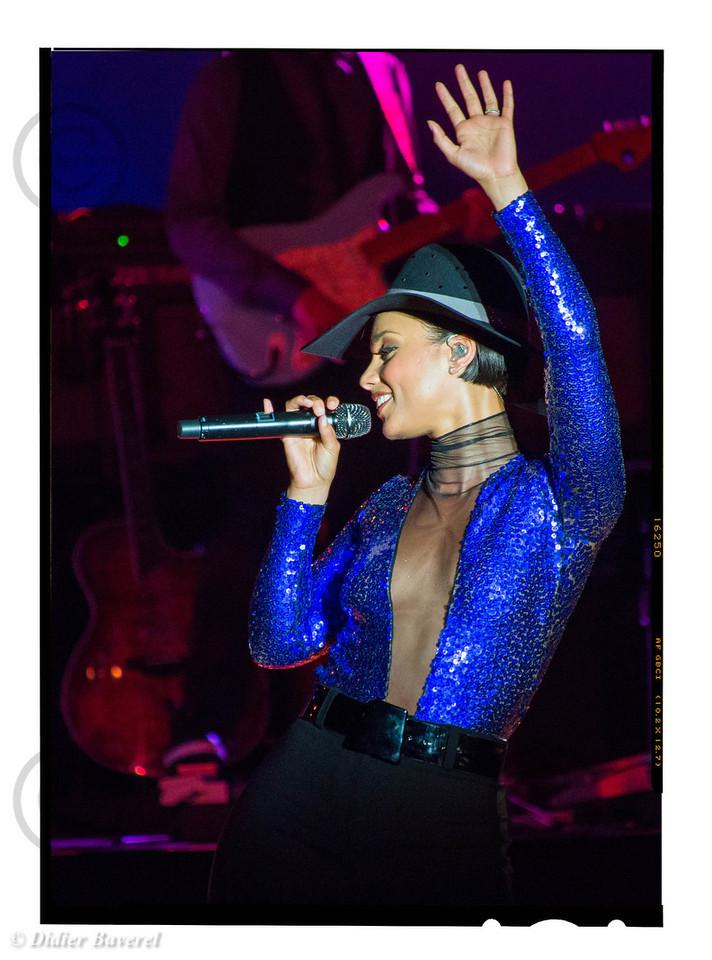 "Alicia Keys performs at ""Sporting d'été"" of Monaco. 2013"