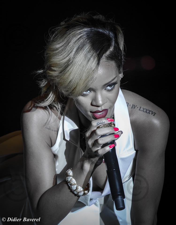 Rihanna at Sporting Monaco