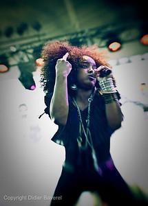 *legende*  Festival de Jazz de Nice. Leela James