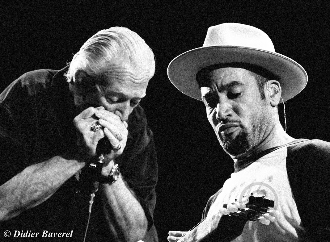 Nice_Jazz_Festival: Charlie Musselwhite et Ben Harper