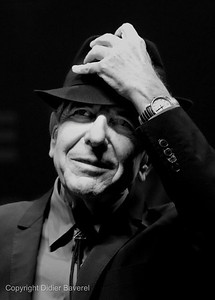*legende*   Festival de Jazz de Nice  Leonard Cohen