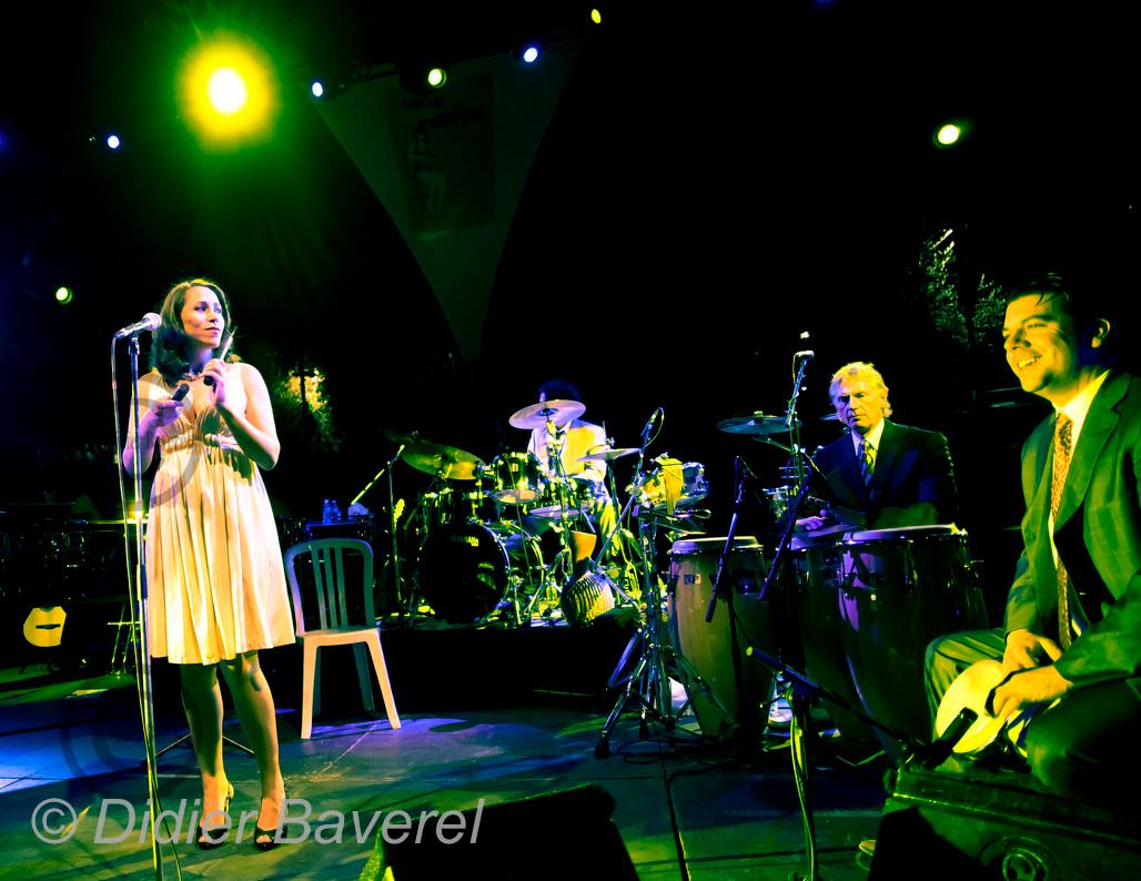 *legende* Festival de Jazz de Nice dans les Arenes de Cimiez. Pink Martini
