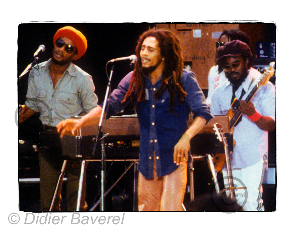 Bob Marley and the Wailers, Santa Barbara 1979. Yes, I was there, a rocky photographer.